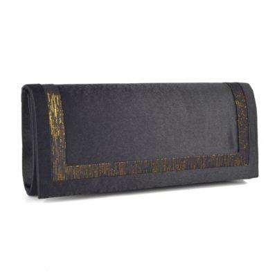 Černá společenská kabelka – 1639 C