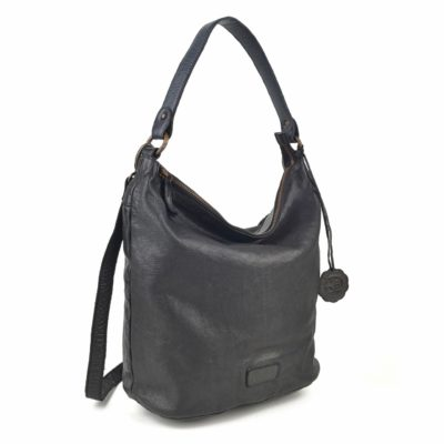Kožená kabelka černá – NB 2003 C