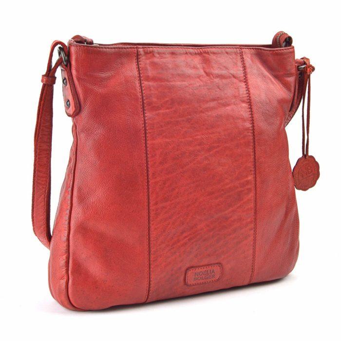 Kožená kabelka červená – NB 2002 CV