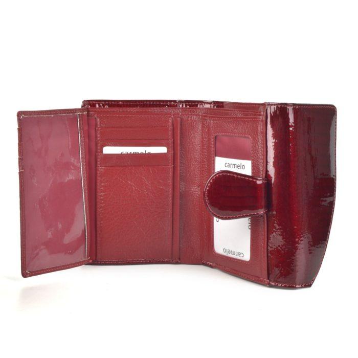 Peněženka bordó – 2108 A BO
