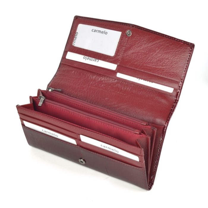Peněženka bordó – 2109 A BO