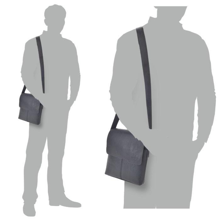 Pánská taška černá Tangerin – 2307 C