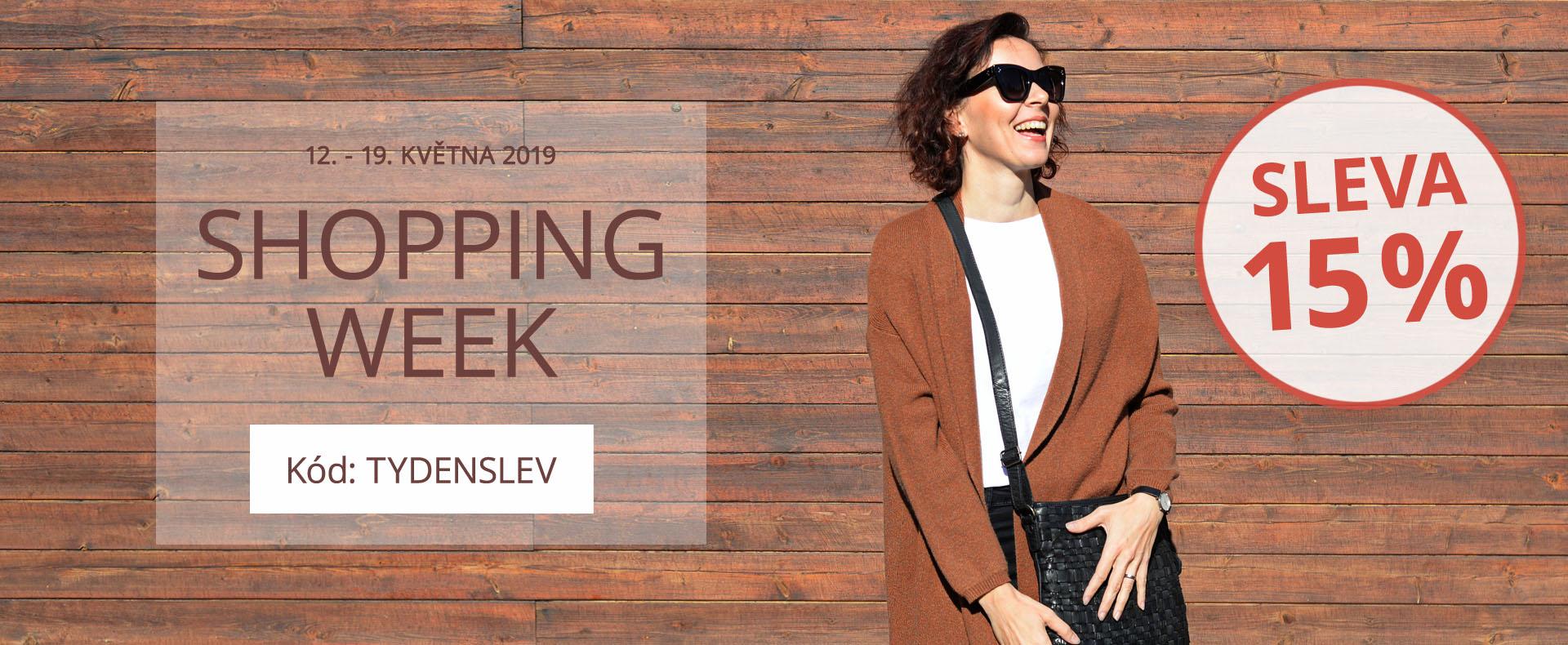 Shopping week 2019
