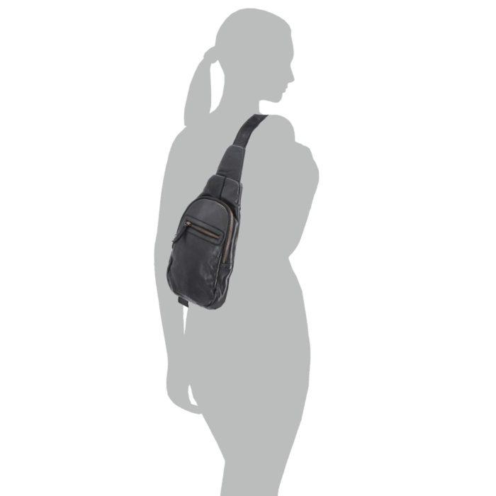 Kožená ledvinka Noelia Bolger – NB 2034 C