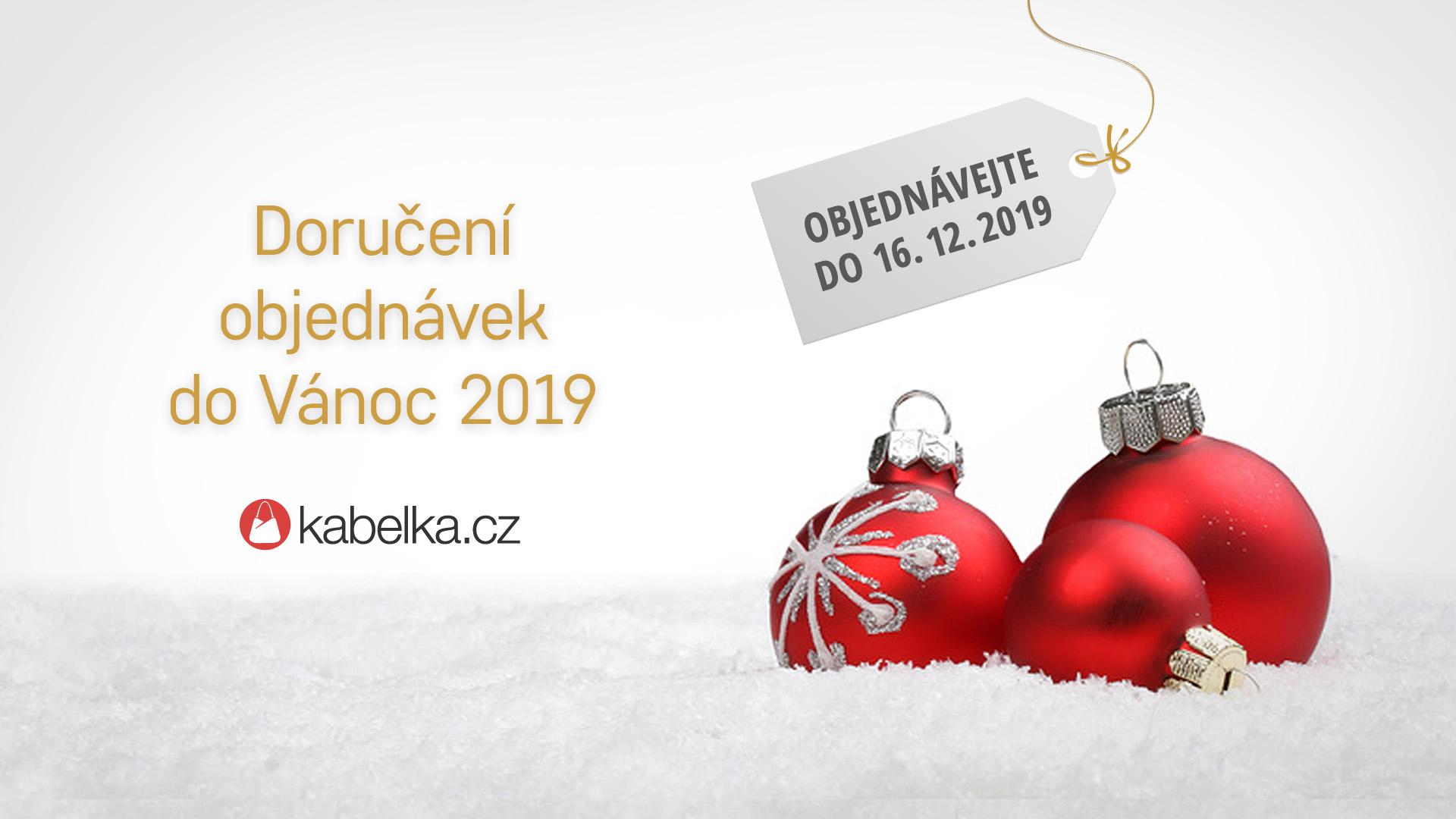 Doručení do Vánoc - na Kabelka.cz