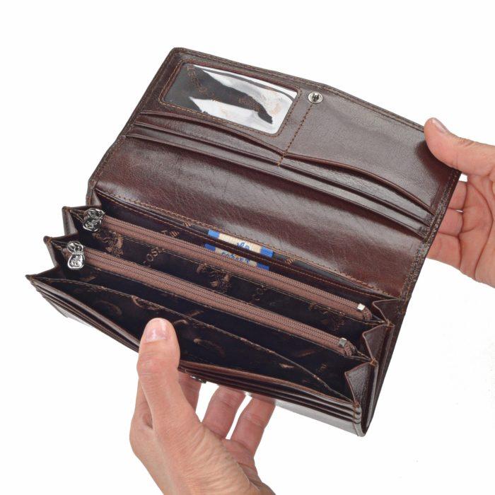 Kožená peněženka Cosset – 4466 Komodo H