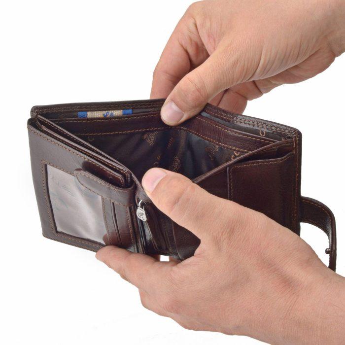 Kožená peněženka Cosset – 4408 Komodo H