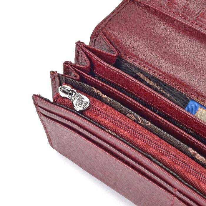 Kožená peněženka Cosset – 4467 Komodo B