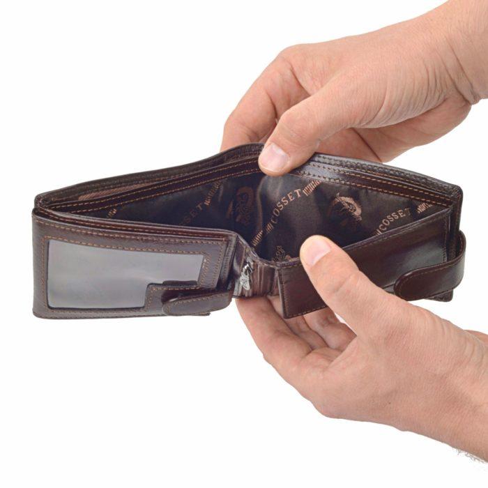 Kožená peněženka Cosset – 4487 Komodo H