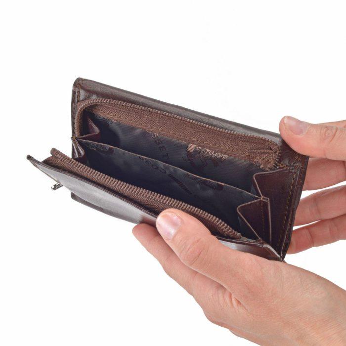 Kožená peněženka Cosset – 4510 Komodo H