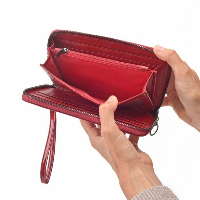 Kožená peněženka Carmelo – 2102 P CV