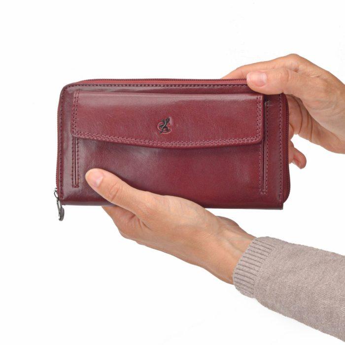 Kožená peněženka Cosset – 4491 Komodo B