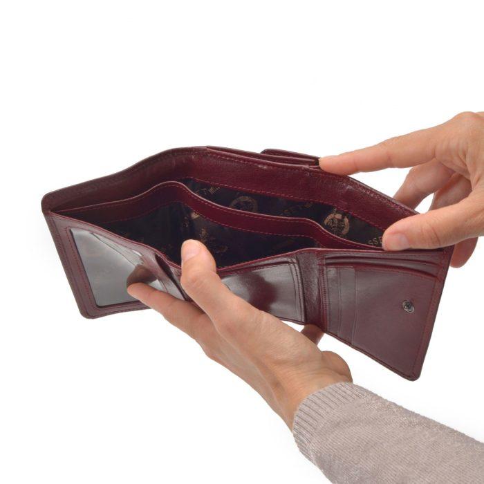 Kožená peněženka Cosset – 4499 Komodo B