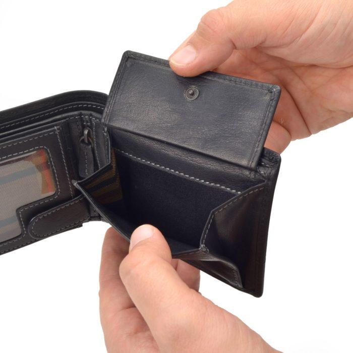 Kožená peněženka Poyem – 5221 AND C