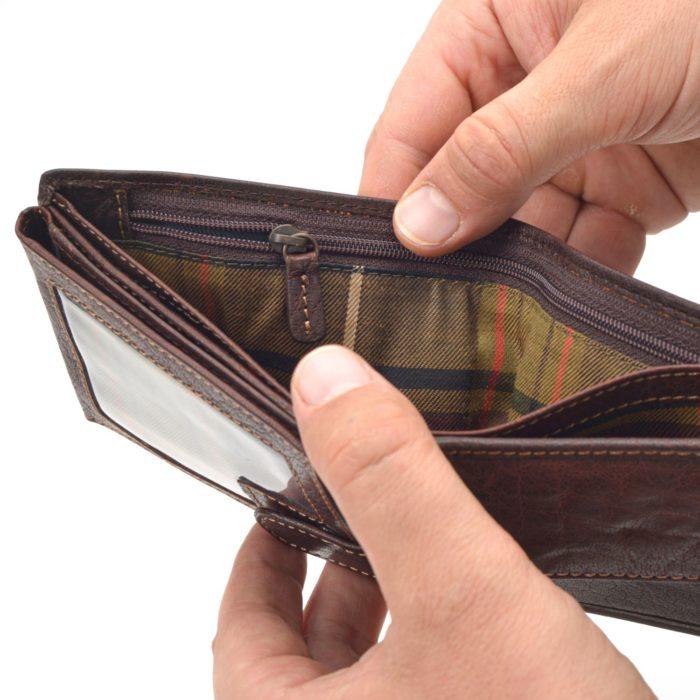 Kožená peněženka Poyem – 5223 AND H