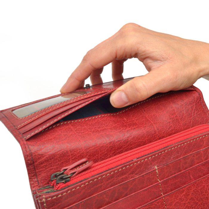 Kožená peněženka Poyem – 5224 AND CV