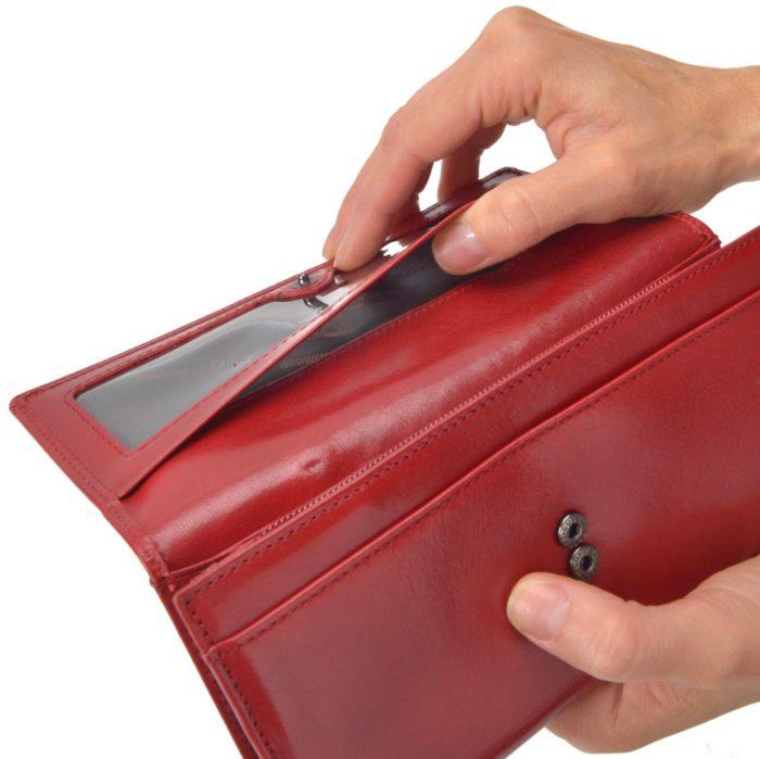Kožená peněženka Cosset – 4493 KomodoCV