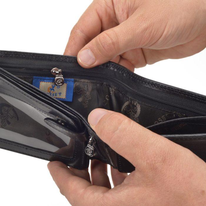 Kožená peněženka Cosset – 4413 Komodo C