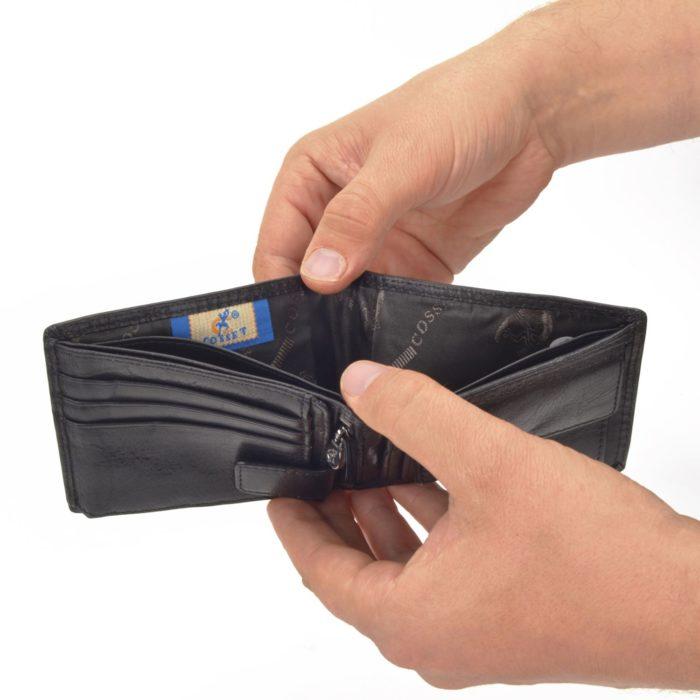 Kožená peněženka Cosset – 4503 Komodo C