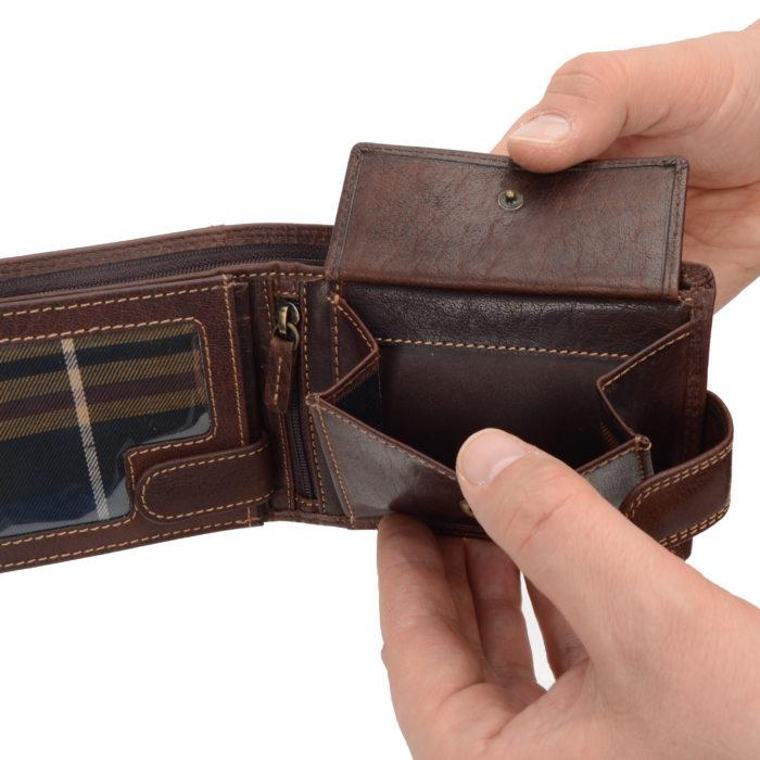 Kožená peněženka Poyem – 5209 AND H