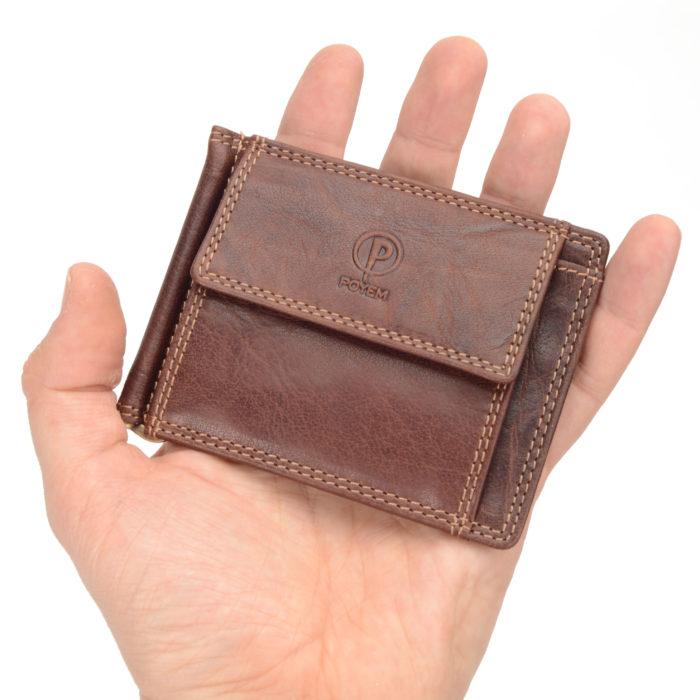 Kožená peněženka Poyem – 5210 AND H