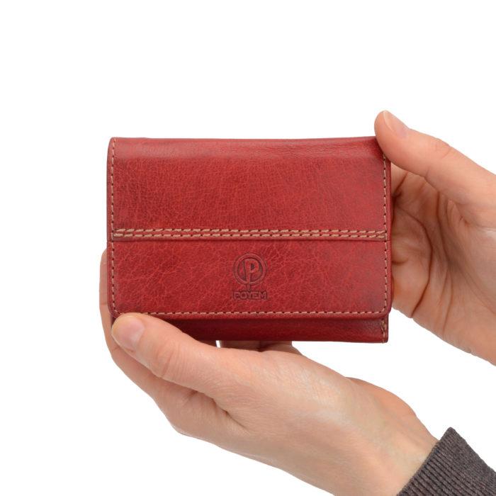 Kožená peněženka Poyem – 5225 AND CV