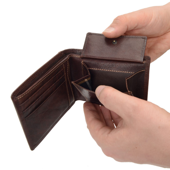 Kožená peněženka Poyem – 5205 AND H