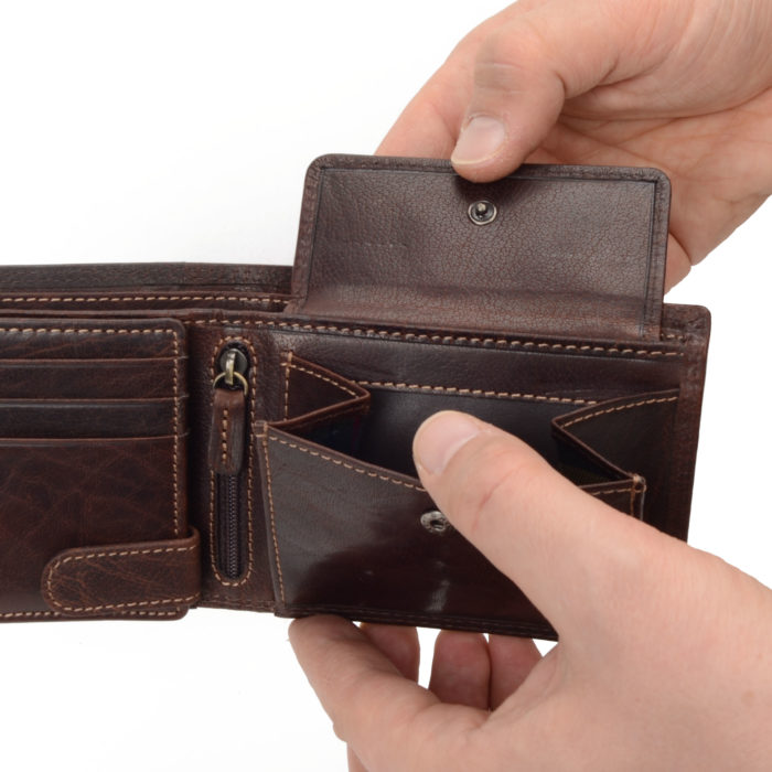 Kožená peněženka Poyem – 5208 AND H