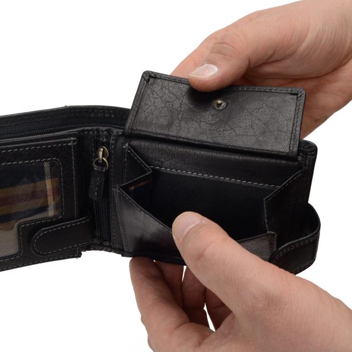 Kožená peněženka Poyem – 5209 AND C