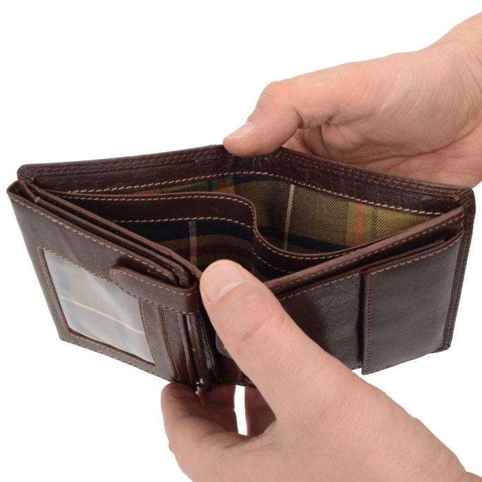 Kožená peněženka Poyem – 5211 AND H