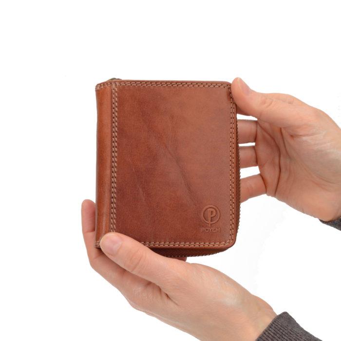 Kožená peněženka Poyem – 5217 AND KO